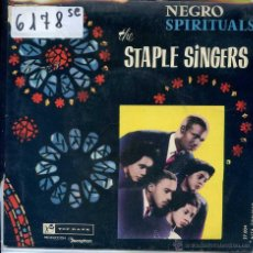 Discos de vinilo: STAPLE SINGERS / I'M SO GLAD / SO SOON / COME ON UP + 1 (EP 1960) VINILO AZUL. Lote 51770584