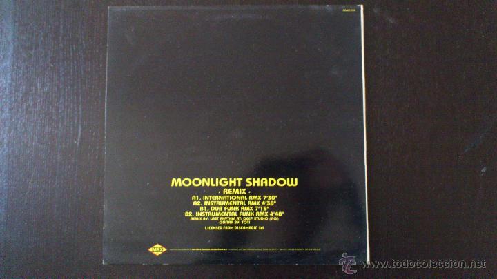 Discos de vinilo: MOON - MOON LIGHT SHADOW - REMIX - MIKE OLDFIELD - MAXI - VINILO - 12 - MAX MUSIC - - Foto 2 - 51770660