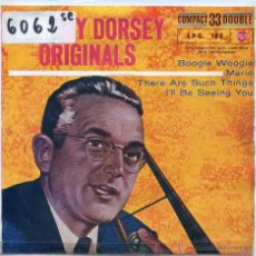Discos de vinilo: TOMMY DORSEY ORIGINALS / THERE ARE SUCH THINGS / I'LL BE SEEING YOU (FRANK SINATRA) + 1 (EP 1961). Lote 51770760