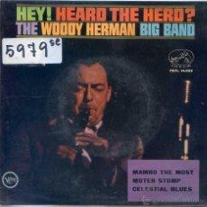 Discos de vinilo: WOODY HERMAN / MAMBO THE MOST / MOTEN STOPM / CELESTIAL BLUES (EP 1964). Lote 51770910