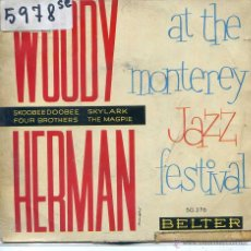 Discos de vinilo: WOODY HERMAN / SKYLARK / THE MAGPIE / FOUR BROTHERS + 1 (EP 1960). Lote 51770922