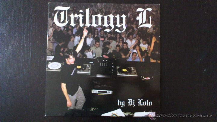TRILOGY G - BY DJ LOLO - TXUS GARCIA - MAXI - VINILO - 12 - STARLUXE - NEW RECORDS - 2002 (Música - Discos de Vinilo - Maxi Singles - Techno, Trance y House)