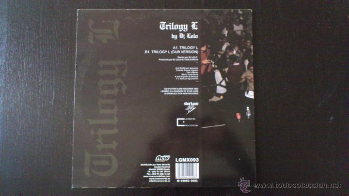 Discos de vinilo: TRILOGY G - BY DJ LOLO - TXUS GARCIA - MAXI - VINILO - 12 - STARLUXE - NEW RECORDS - 2002 - Foto 2 - 51771099