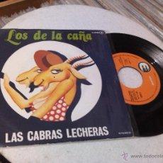 Discos de vinilo: LOS DE LA CAÑA / LAS CABRAS LECHERAS / QUE SERA DE MI (SINGLE 1978). Lote 51771850