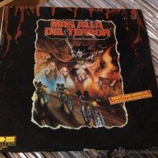 Discos de vinilo: MAS ALLA DEL TERROR (BANDA SONORA DE LA PELICULA) (LP) 1980 SPAIN . Lote 51773352
