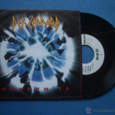 Discos de vinilo: DEF LEPPARD HEAVEN IS SINGLE GERMANY 1993 PDELUXE. Lote 51773564