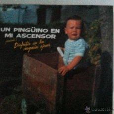 Discos de vinilo: LP UN PINGUINO EN MI ASCENSOR-DISFRUTAR CON LAS DESGRACIAS AJENAS. Lote 51774507