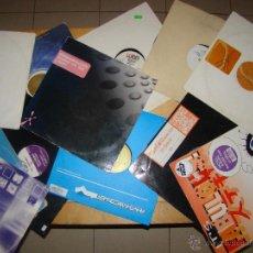 Discos de vinilo: GRAN LOTE DE VINILOS DISCOTECA AÑOS 90 MUSICA TECNO, HOUSE, ACID, ETC.... Lote 139089870