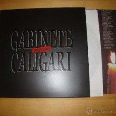 Disques de vinyle: GABINETE GALIGARI - SECRETO. Lote 51775131