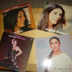 Disques de vinyle: LOTE ISABEL PANTOJA. Lote 51775256