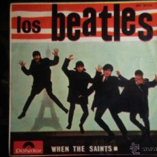 LOS BEATLES TONY SHERIDAN WHEN THE SAINTS E.P. ORIGINAL POLYDOR EPH 50926 ESPAÑOL 1964