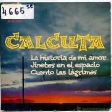 Discos de vinilo: CALCUTA (THE CONTRASTS) - COUNT THE TEARS (BILLY WADE) + 2 (EP 1961). Lote 51779403