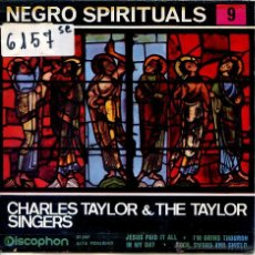 Discos de vinilo: CHARLES TAYLOR AND THE TAYLOR SINGERS / ROCK, SWORD AND SHIELD + 3 (EP 1963). Lote 51781429