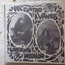Discos de vinilo: LP CUATRO VIENTOS - LABERINTO INTERIOR (VER IMAGEN ADICIONAL Y LEER DESCRIPCION). Lote 51782710