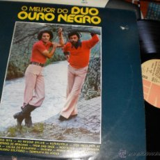Discos de vinilo: O MELHOR DO DUO OURO NEGRO LP.PORTUGAL.EN PERFECTO ESTADO. Lote 51782801
