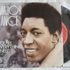 Discos de vinilo: SINGLE - MAJOR LANCE - PYE 1975 - YOU'RE EVERYTHING I NEED - - 2 VERSIONES. Lote 51786138