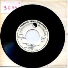 Discos de vinilo: AGUAVIVA / PISOTEADOS / EN MEMORIA / ES URGENTE + 1 (EP PROMO 1977). Lote 51786416