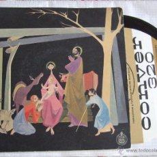 Discos de vinilo: SINGLE HISPAVOX FELICITACION NAVIDAD - VILLANCICOS - PUBLICIDAD TOCADISCOS CONVER 320. Lote 51786503