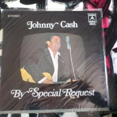 Discos de vinilo: JOHNNY CASH - BY SPECIAL REQUEST - LP - VINILO - SUMMIT RECORDS - AUSTRALIA. Lote 51786801