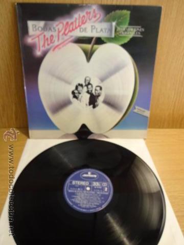THE PLATTERS. BODAS DE PLATA. LP / MERCURY - 1981. CALIDAD NORMAL. ***/** (Música - Discos - LP Vinilo - Funk, Soul y Black Music)