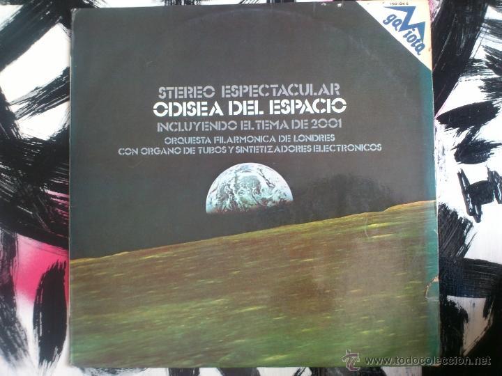 ODISEA DEL ESPACIO - ORQUESTA FILARMONICA DE LONDRES - VINILO - LP - GAVIOTA - 1973 (Música - Discos - LP Vinilo - Bandas Sonoras y Música de Actores )