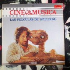 Discos de vinilo: CINE & MUSICA - 30 - LAS PELICULAS DE SPIELBERG - VINILO - LP - POLYGRAM - 1987. Lote 51789717