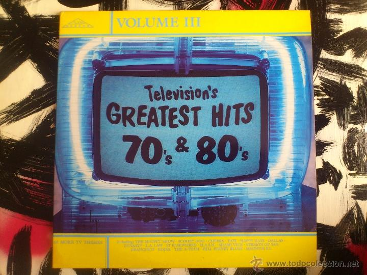 Discos de vinilo: TELEVISION´S GREATEST HITS 70´S & 80´S - VOLUME III - DOBLE LP - VINILO - SILVA SCREEN - 1987 - Foto 1 - 51791527