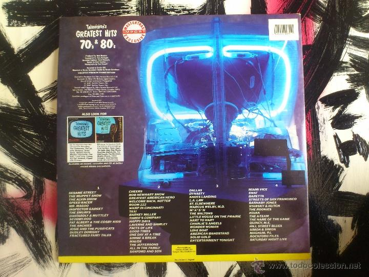 Discos de vinilo: TELEVISION´S GREATEST HITS 70´S & 80´S - VOLUME III - DOBLE LP - VINILO - SILVA SCREEN - 1987 - Foto 2 - 51791527