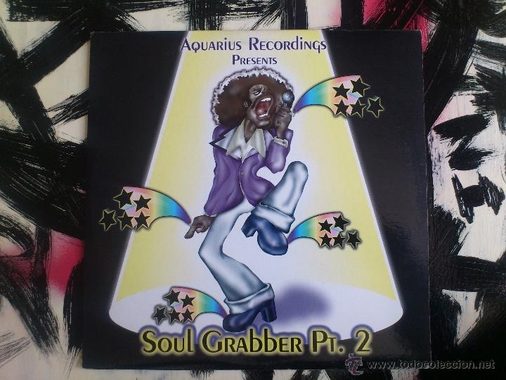 AQUARIUS RECORDINGS PRESENTS - SOUL GRABER PT.2 - DOBLE VINILO - STICKMAN - PAUL JACOBS - DUB - 1997 (Música - Discos de Vinilo - Maxi Singles - Reggae - Ska)