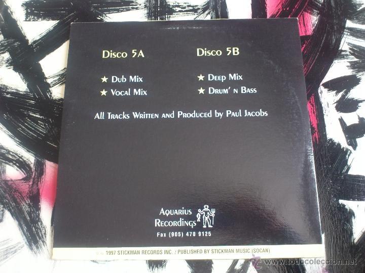 Discos de vinilo: AQUARIUS RECORDINGS PRESENTS - SOUL GRABER PT.2 - DOBLE VINILO - STICKMAN - PAUL JACOBS - DUB - 1997 - Foto 2 - 51791849
