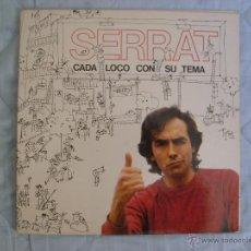 Discos de vinilo: JOAN MANUEL SERRAT - CADA LOCO CON SU TEMA LP. Lote 51799494