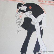 Discos de vinilo: EL COCO LP DANCING IN PARADISE EDITADO EN USA 1978. Lote 51800296