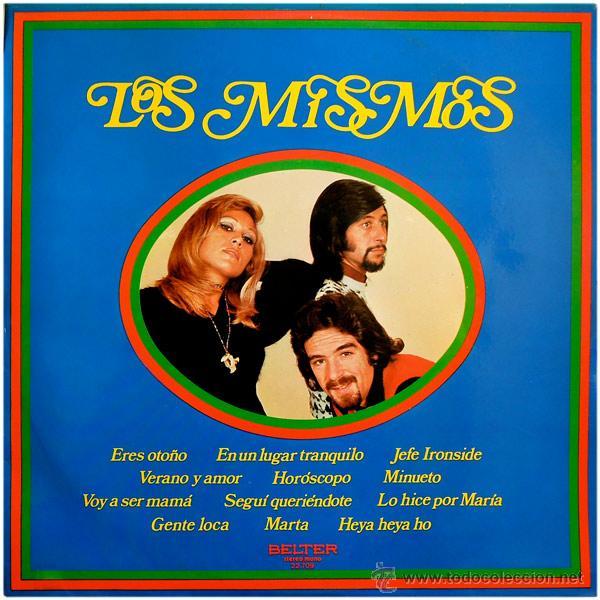 LOS MISMOS - JEFE IRONSIDE - LP SPAIN 1973 - BELTER 22.709 (Música - Discos - LP Vinilo - Grupos Españoles de los 70 y 80)