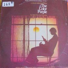 Discos de vinilo: LP - THE COLOR PURPLE - MUSIC PRODUCED BY QUINCY JONES (DOBLE DISCO, SPAIN, QWEST RECORDS 1986). Lote 51807207