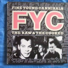 Discos de vinilo: FINE YOUNG CANNIBALS - THE RAW AND THE COOKED (LP). Lote 51809150