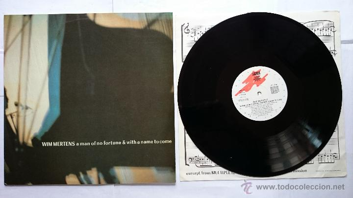 WIN MERTENS - A MAN OF NO FORTUNE & WITH A NAME TO COME (1986) (Música - Discos - LP Vinilo - Electrónica, Avantgarde y Experimental)