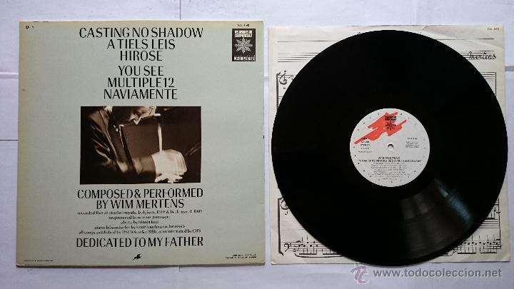 Discos de vinilo: WIN MERTENS - A MAN OF NO FORTUNE & WITH A NAME TO COME (1986) - Foto 2 - 51810531