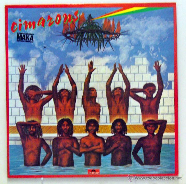 CIMARONS - 'MAKA' (LP VINILO. ORIGINAL 1978) (Música - Discos - LP Vinilo - Reggae - Ska)