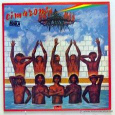 Discos de vinilo: CIMARONS - 'MAKA' (LP VINILO. ORIGINAL 1978). Lote 51816626