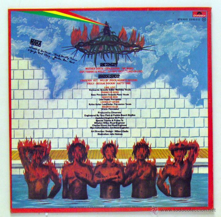 Discos de vinilo: Cimarons - Maka (LP Vinilo. Original 1978) - Foto 2 - 51816626