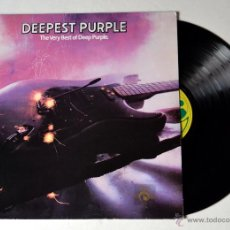 Discos de vinilo: DISCO DE VINILO: LP. DEEP PURPLE: THE VERY BEST OF. AÑO 198O. Lote 51818350