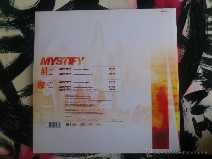 Discos de vinilo: MELLOW TRAX - FEAT. INXS - MYSTIFY - MAXI - DOBLE VINILO - EDM - UNIVERSAL - 2003 - Foto 2 - 51877546