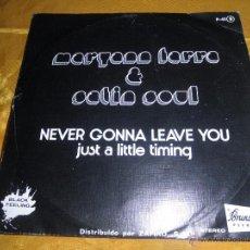 Discos de vinilo: MARYANN FARRA & SATIN SOUL. NEVER GONNA LEAVE YOU. DISCO PROMOCIONAL. ZAFIRO 1976. Lote 51889603