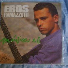 Discos de vinilo: EROS RAMAZZOTTI - MUSICA ES (LP). Lote 51892969