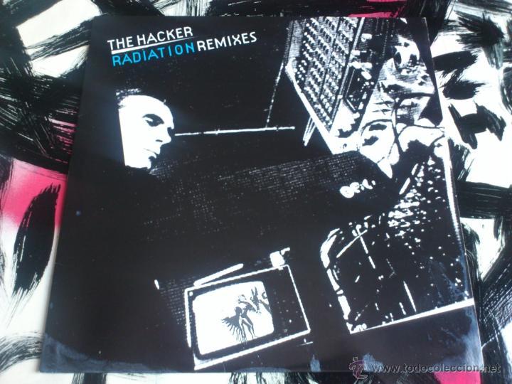 THE HACKER - RADIATION - REMIXES - MAXI - VINILO - GOODLIFE - 2005 (Música - Discos de Vinilo - Maxi Singles - Techno, Trance y House)