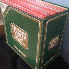 Discos de vinilo: LOTE DE 50 DISCOS VINILO COLECCION RTVE GRANDES CLÁSICOS DE LA MÚSICA CAJA AHORROS VIZCAINA. Lote 51919247