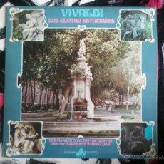 Discos de vinilo: VIVALDI - LAS CUATRO ESTACIONES - LP - VINILO - DIAL DISCOS - FOTO JAVIER MANGLANO - 1978. Lote 51920450