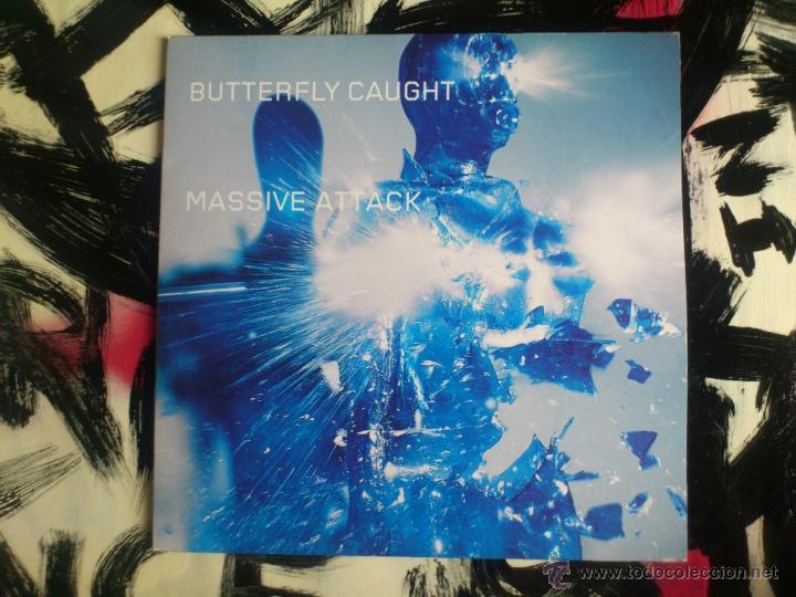 MASSIVE ATTACK - BUTTERFLY CAUGHT - DOBLE VINILO - MAXI - VIRGIN - 2003 (Música - Discos de Vinilo - Maxi Singles - Pop - Rock Internacional de los 90 a la actualidad)