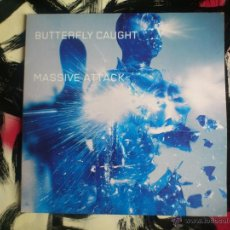 Discos de vinilo: MASSIVE ATTACK - BUTTERFLY CAUGHT - DOBLE VINILO - MAXI - VIRGIN - 2003. Lote 51921883