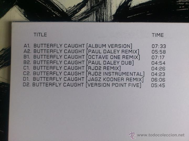 Discos de vinilo: MASSIVE ATTACK - BUTTERFLY CAUGHT - DOBLE VINILO - MAXI - VIRGIN - 2003 - Foto 3 - 51921883